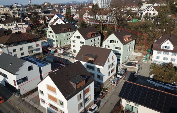 Baustelle Ziegelhof Rüti